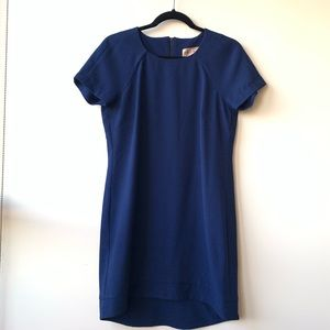 Philosophy Navy Blue Shift Dress EUC